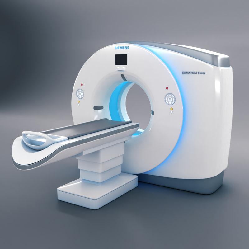 3d ct scanner siemens somatom model