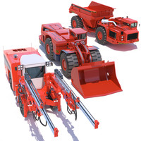 sandvik mining machines 3ds