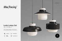 Lento Lamps Set