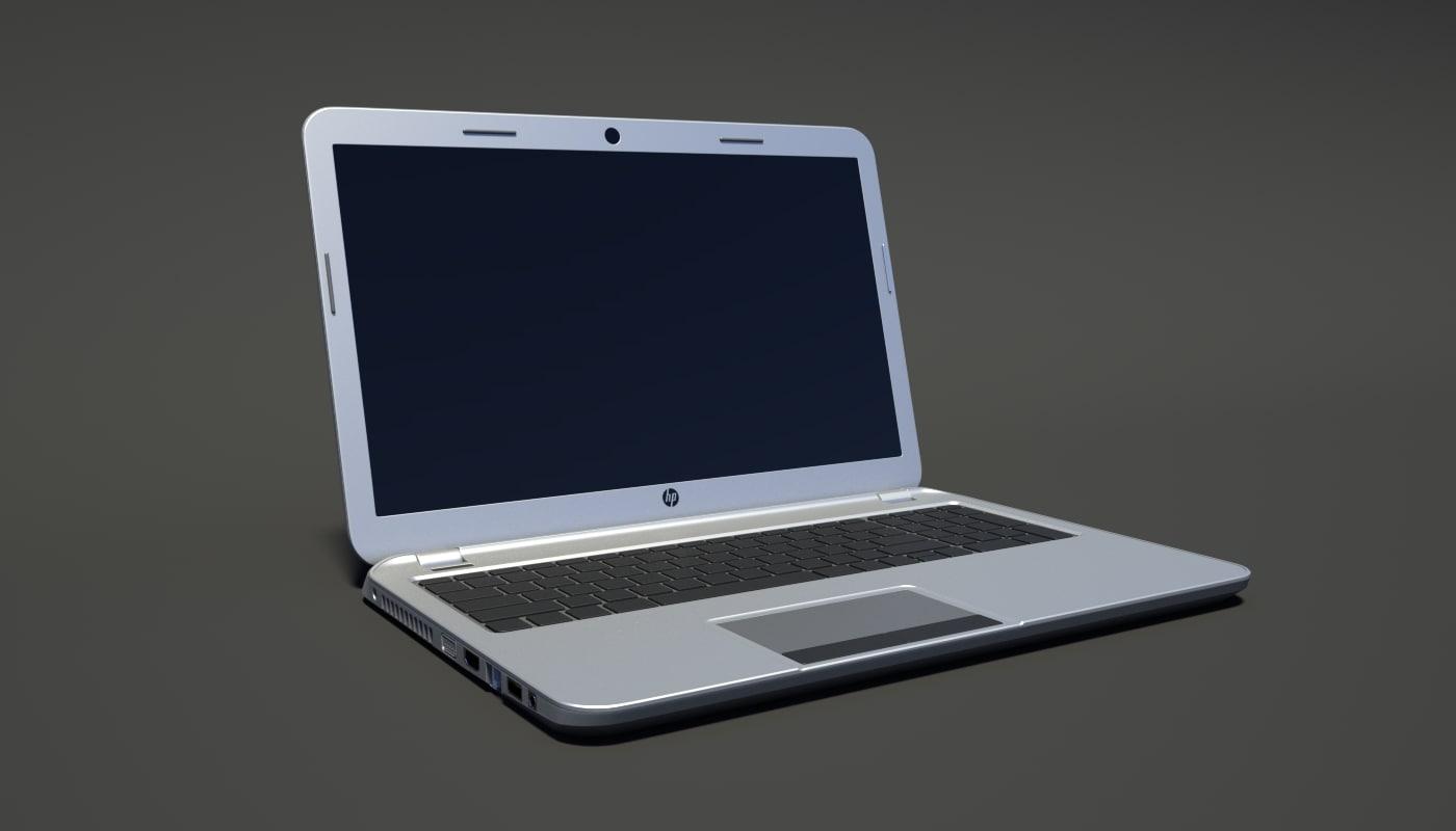 hp laptop obj