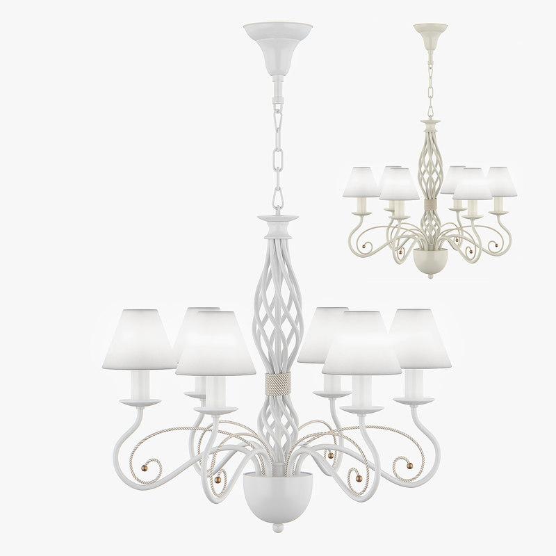 chandelier esedra lightstar 3d max