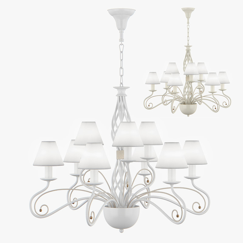 chandelier esedra lightstar 3d model