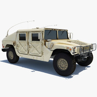 HMMWV Hummer Miliatry Vehicle