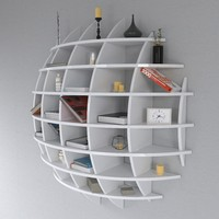 3d shelf spherical