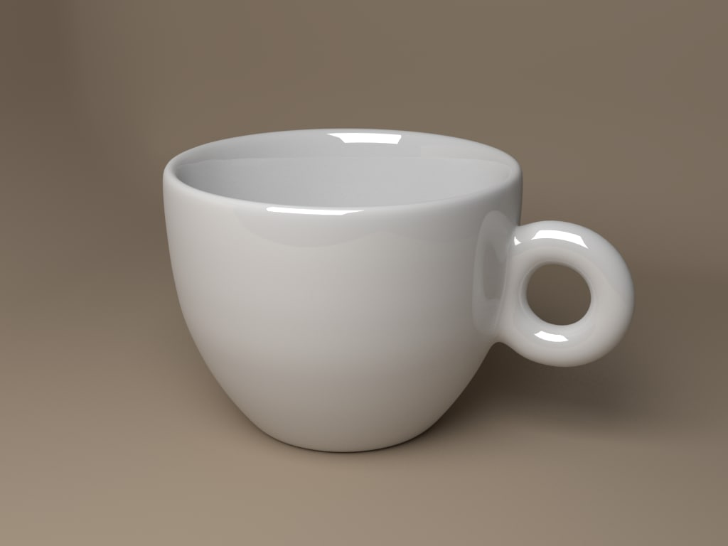 coffee cup obj