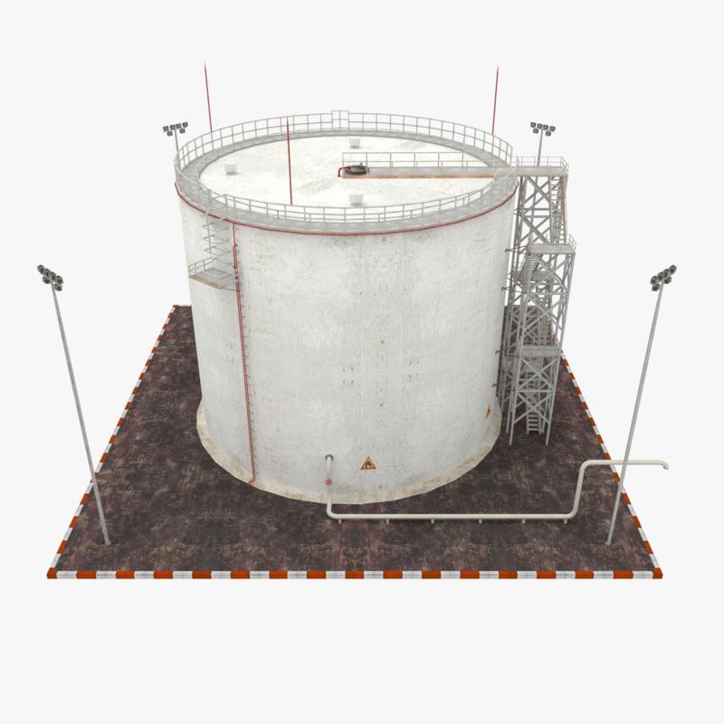 3ds oil tank