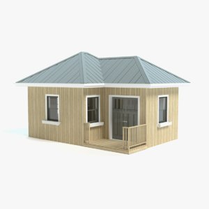 3ds garden shed