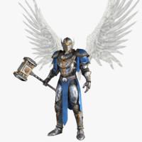 angel knight 3d max