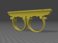 3d model doctor strange sling ring