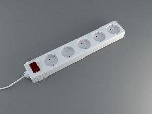3d max power strip