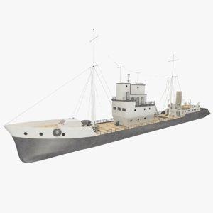 background steamship beshtau 3d obj