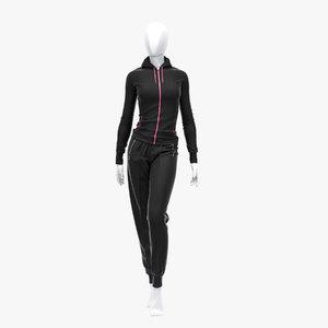 max female sport suit