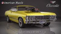 chevrolet impala ss 3d max