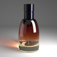 3d model bottle parfum