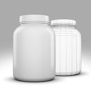 3d 3 lb container