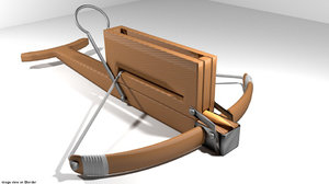 crossbow repeating 3d model