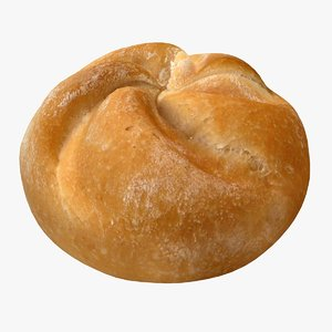 realistic kaiser roll 3ds