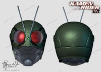 kamen rider helmet 3ds