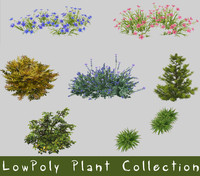 LowPoly Plant Collection