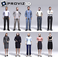 3D People: Business People Vol. 02