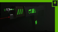 neon guns 3d model