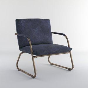 fauteuil savier chair obj