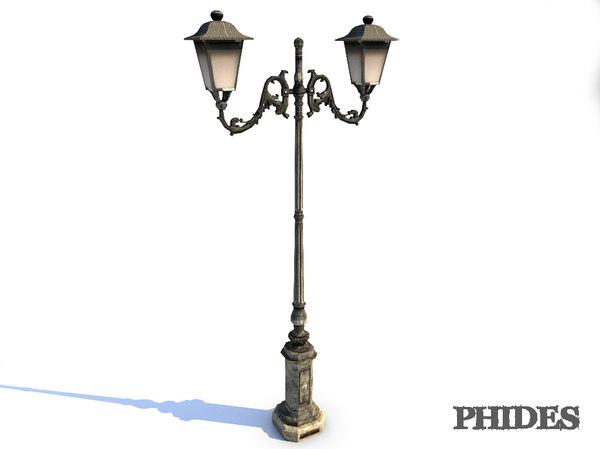 street light 1 3d model