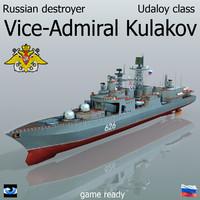 3d udaloy ii class destroyer