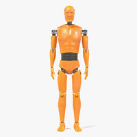 3d crash test dummy model