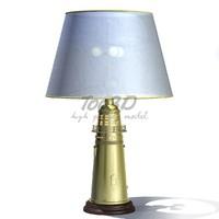 3d model of vintage lamp