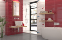 modern bathroom with ceramic tiles