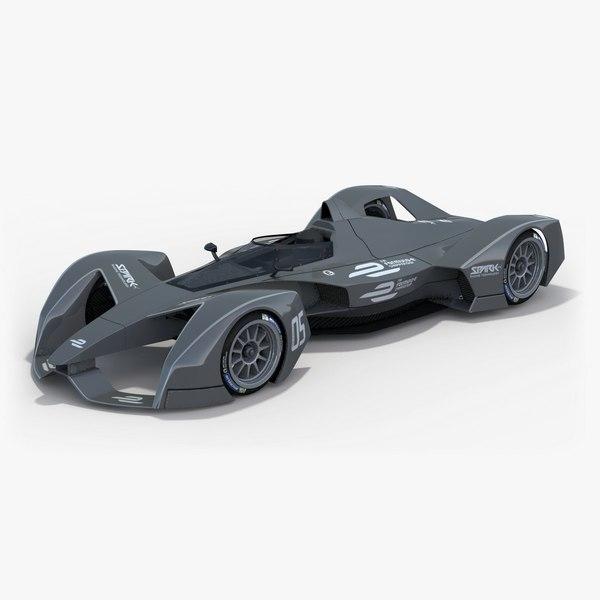 3d spark racing technology srt05e model