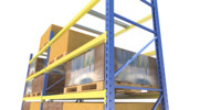 industrial pallet racks 3ds