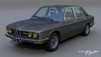 528i e12 - 1979s 3d model