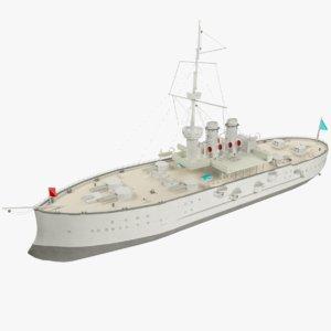 3ds background steamship