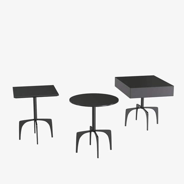 3d model of furniture clark gray table