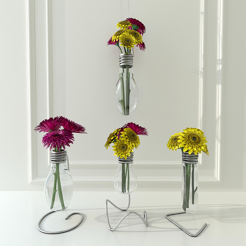Light Bulb Vase Dwg