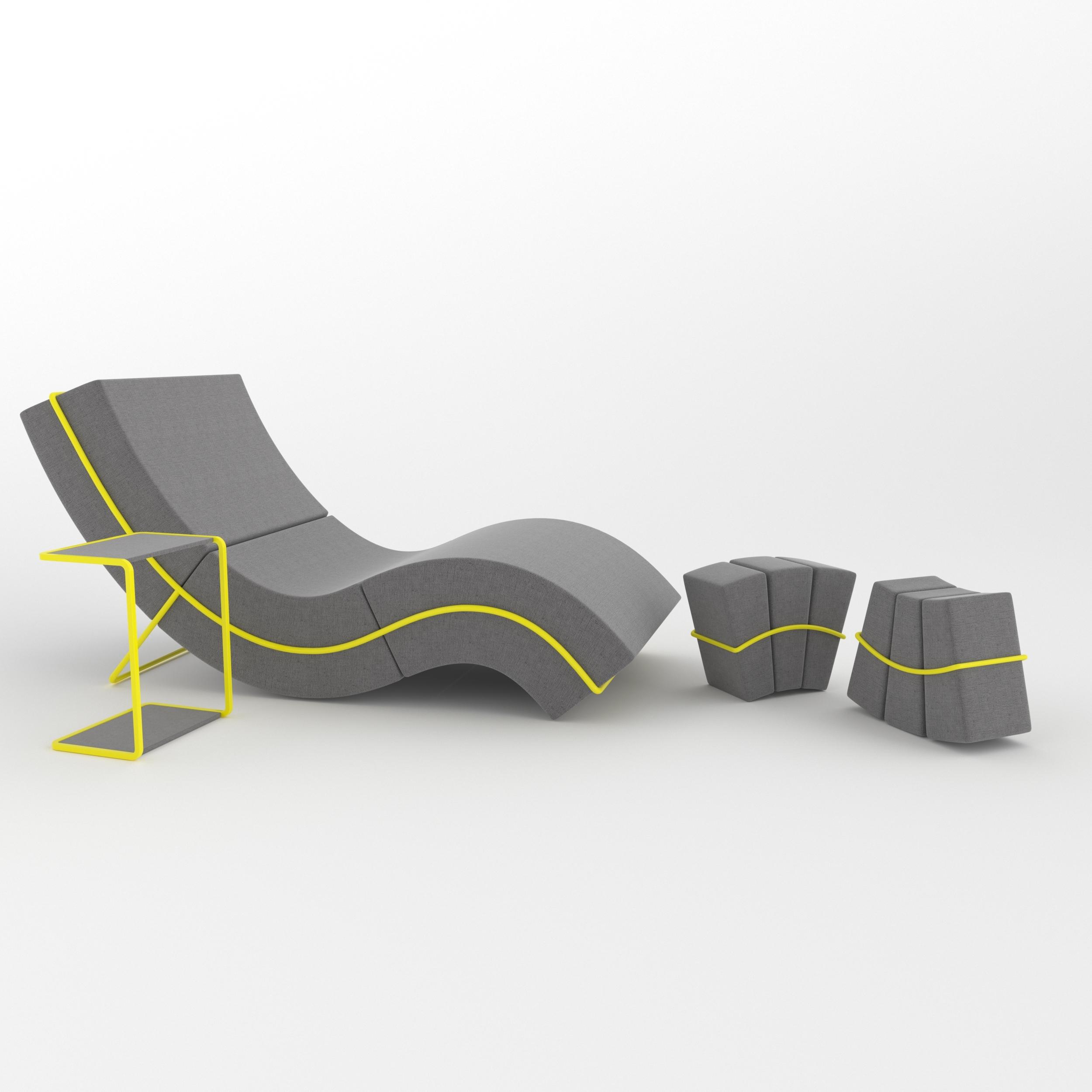 Outstanding Curve Frame Sofa Set Inzonedesignstudio Interior Chair Design Inzonedesignstudiocom