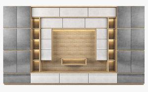 3d tv modern living cabinets