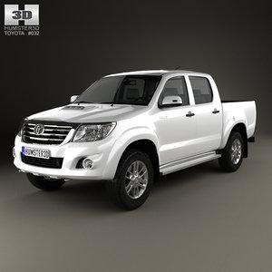 toyota 2012 3d model
