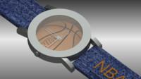wristwatch watch 3d model