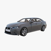 2015 lexus gs350 3d model