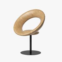 ricardo fasanello anel chair 3d model