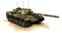 Chieftain Mk 5 United Kingdom Battle Tank