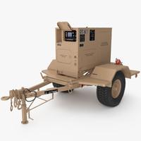 5kw generator 3d obj