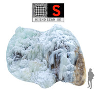 3d max icefall phenomenon nature