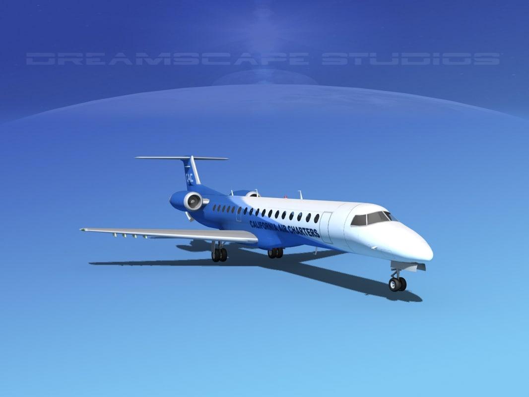 embraer erj 145 charter max