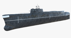 rescue soviet submarine project 3d model