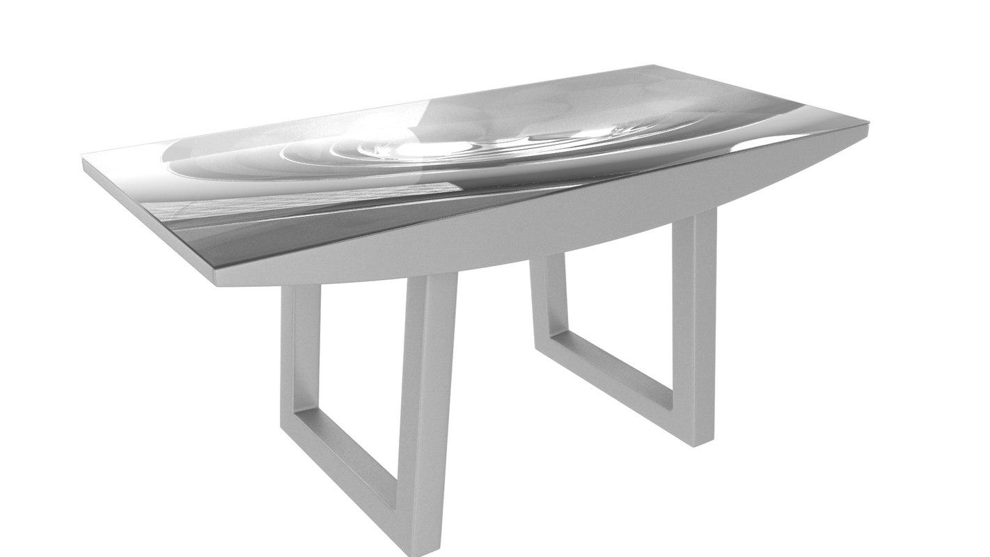 3d diningtablejulia model
