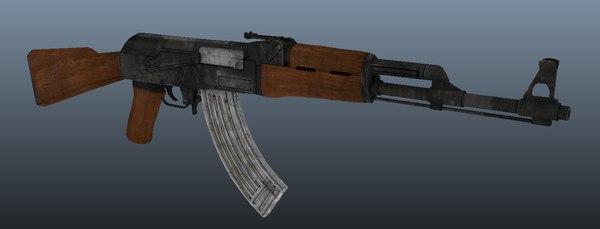 3d classic ak-47
